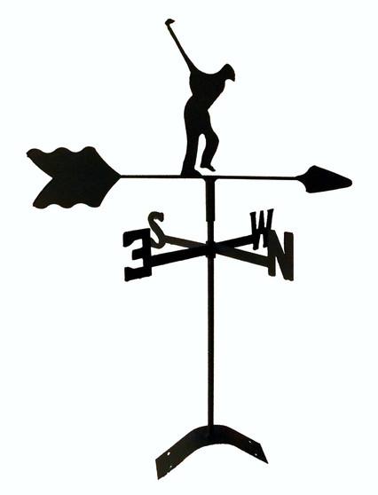TLS1022RM Golfer Roof Mount Weathervane