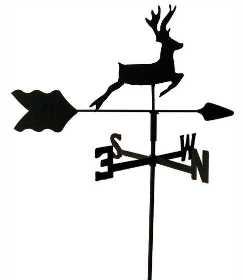 TLS1012IN Deer Garden Style inground Weathervane