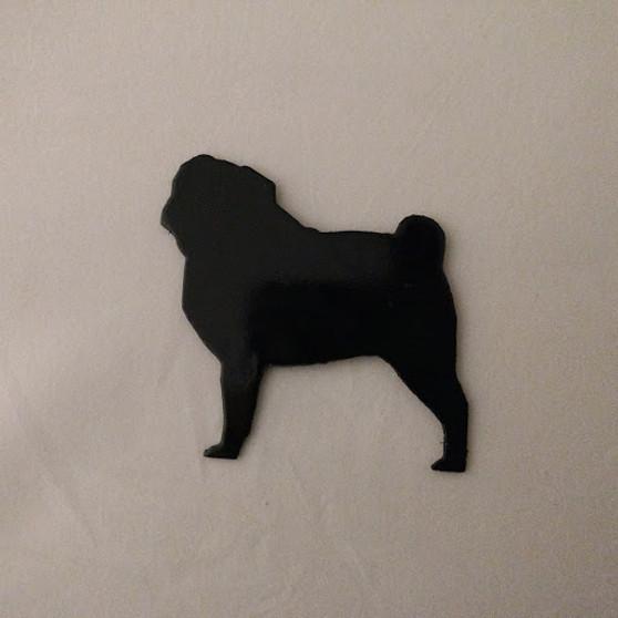Pug Refrigerator Magnet