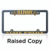 Raised Copy License Frames