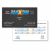 "Standard 3.5"" x 2"" Carbon Fiber Business Cards - FREE SHIPPNG"