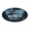 CCA Global Oval Name Badge