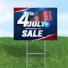 10 Pack - 4th of July Yard Signs with Stakes