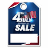 50 Pack - 4th of July Mirror Hang Tags