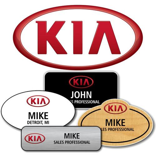 Kia Name Badges