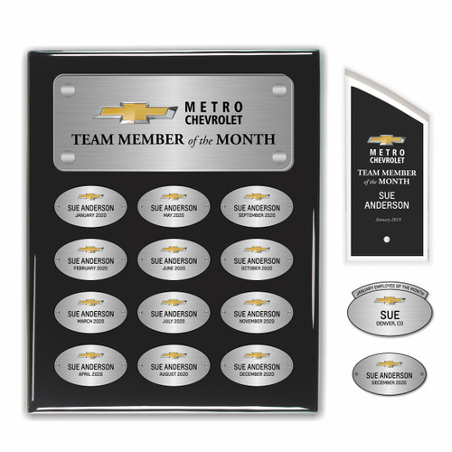 12 Month Employee Recognition Award Package