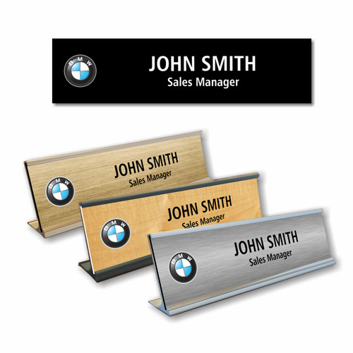 BMW Desk Name Plate