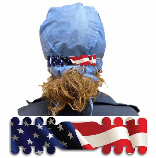USA Flag Blank Ear Savers (Minimum Order 10)