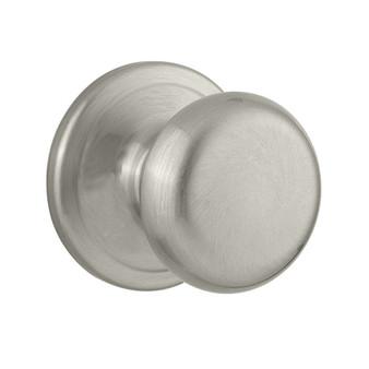 Kwikset 97200-789 Juno Knob (Hall or Closet Lock) in Satin Nickel 04KW-97200-789