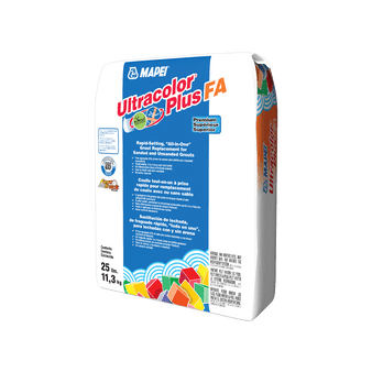Ultracolor Plus Rapid-Setting Grout with Polymer in White