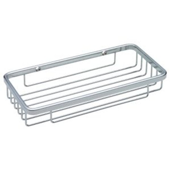 "4-1/4"" x 8-1/2"" Wire Soap Dish in Bright Stainless Steel 08LI-B9789"