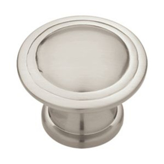 "1-1/8"" Ridge Knob in Satin Nickel 34LI-PN0408H-SN-C"