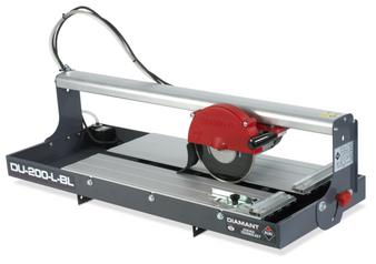 Rubi DU 200L BL Wet Saw Electric Tile Cutter (230v) 12RU-25973
