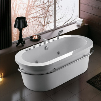 Freestanding Whirlpool Bathtub