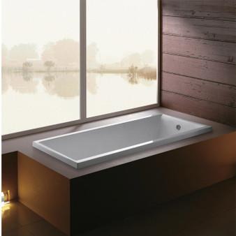 Drop In Bathtub in White