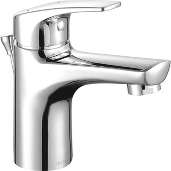 Ixa Soft Single Handle Lavatory Bathroom Faucet in Chrome