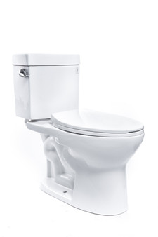 Select 2-Piece Elongated Front Toilet in White