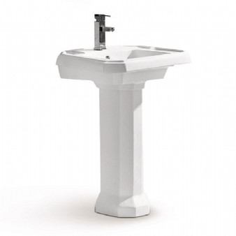 Select MY3116 Pedestal Set in White