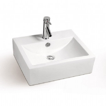 Select Countertop Basin in White 08MUY-MY5104