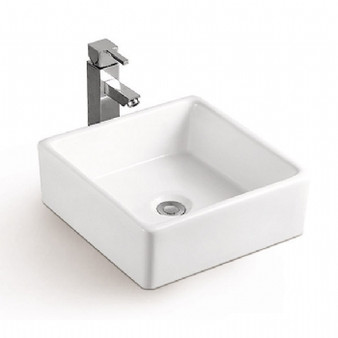 Select Countertop Basin in White 08MUY-MY5113