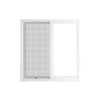 "48"" x 48"" UPVC Sliding Window with Mesh"