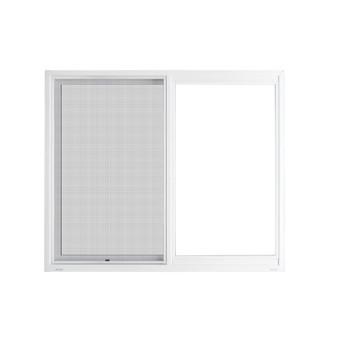 "60""x 36"" UPVC Sliding Window with Mesh"