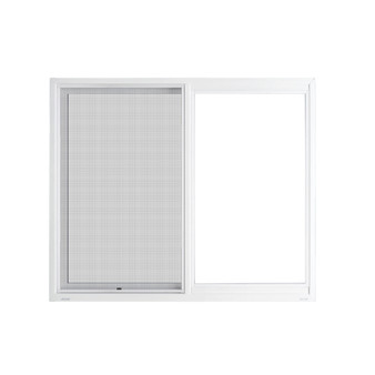 "72""x 48"" UPVC Sliding Window with Mesh"