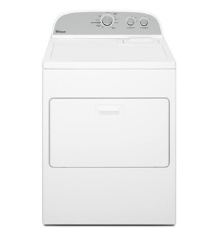 15kg (33lbs) Gas Dryer in White