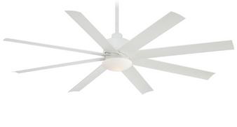 "Slipstream 65"" 8 Blade Outdoor Ceiling Fan in White (29MI-F888-WHT)"