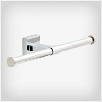 Maxted Double Toilet Paper Holder in Polished Chrome
