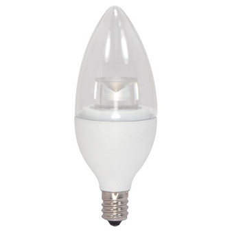 Satco 2.8W Dimmable Torpedo E12 LED Bulb