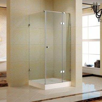 Shower Enclosure with Tempered Glass