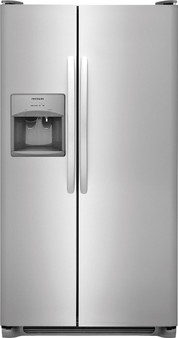 Frigidaire 26 cu.ft. Side by Side Refrigerator in Stainless