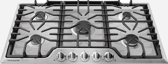 """36"""" Gas Cooktop In Stainless"""