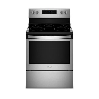 """30"""" 5.3 cu.ft Freestanding Electric Range in Stainless Steel"""