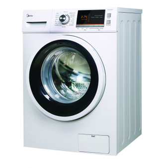 Midea 15kg Front Load Washer in White