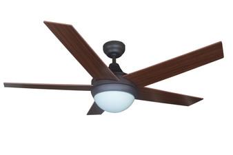 """Bali 52"""" Savannah Indoor Ceiling Fan in Antique Bronze"""
