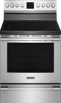 """Professional 30"""" Freestanding Electric Range in Stainless"""