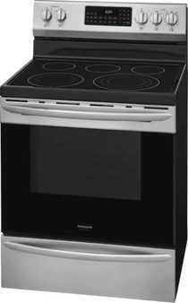 """Frigidaire 30"""" Electric Range with Air Fry In Stainless Steel"""