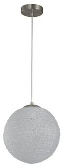 03363 1 Light Pendant in Satin Nickel