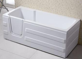 Q375-L Rectangular Walk-in Bathtub In White