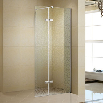 "41"" Walk-in Tempered Glass Shower Screen"