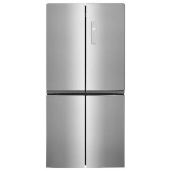 17.4 Cu. Ft. 4 Door Refrigerator in Stainless Steel