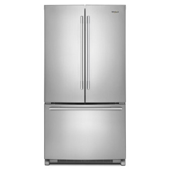 "25 cu.ft. 36"" French Door Refrigerator In Stainless Steel"