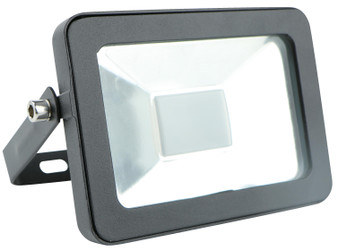 10W LED Outdoor 6000K Floodlight in Black