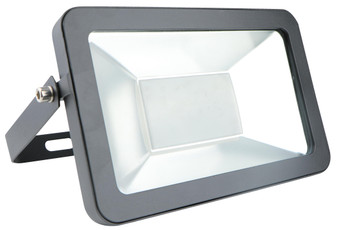 100W LED Outdoor Floodlight in Black