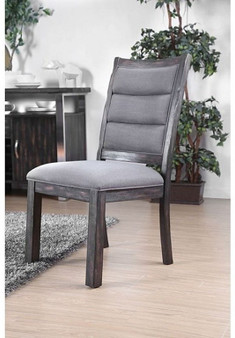 Mandy Side Chair in Gray