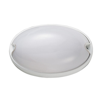 1-Light Bulkhead Light in White