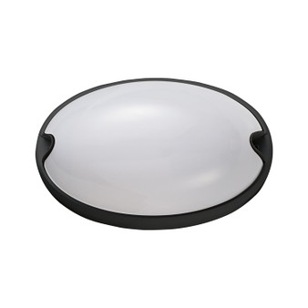 1-Light Bulkhead Light in Black