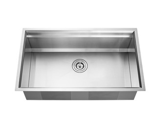 "32"" Undermount Single Kitchen Sink in Stainless Steel"